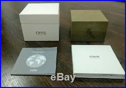 Oris Clean Ocean 39.5 mm limited edition excellent condition with full kit