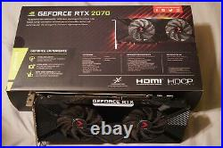 PNY GeForce RTX 2070 8GB XLR8 Overclocked Edition. Used Excellent Condition