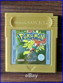 POKEMON GOLD Version, COMPLETE with box and manual EXCELLENT Condition