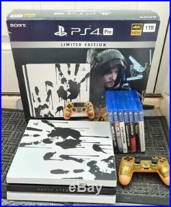 PS4 Pro 1TB Death Stranding Edition 7216b Excellent Condition with 2 Yr Warranty