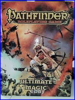 Pathfinder RPG 1st edition Hardcover Books Excellent Condition Set (Lot)