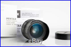 Pentax Lens 31mm f/1.8 Limited Edition (Black) in Excellent condition