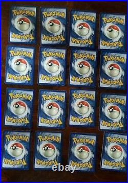 Pokemon 1st EDITION Fossil Set COMPLETE 62/62, Excellent Condition