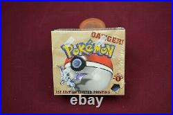 Pokemon 1st Edition Fossil Booster Box Excellent Condition Fresh From Case