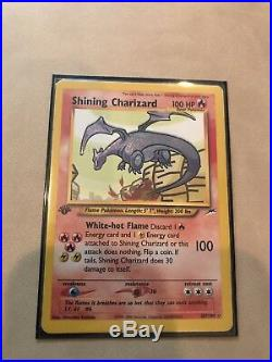 Pokemon 1st edition Shining Charizard Excellent Condition