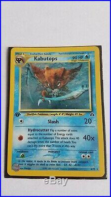 Pokemon Card Collection, 1st Edition, Holographic, Excellent Condition