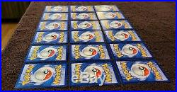Pokemon Card Lot 1st Edition Base Set Non-Holo 68 Cards EXCELLENT CONDITION