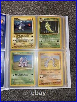 Pokemon Cards Complete Base Set 1 102 Cards EXCELLENT CONDITION + 1st EDITION