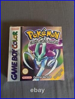 Pokemon Crystal Version Game Boy Color PAL Complete in box excellent condition