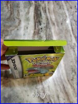 Pokemon Leaf Green Version (Game Boy Advance) Box Only Excellent Condition