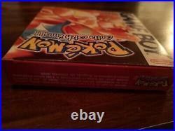 Pokemon Red Version Game Boy Boxed Complete Excellent Condition VGC LOOK