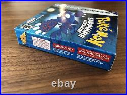 Pokemon Sapphire Version (GBA, 2003) Excellent Condition, Sealed eReader Card