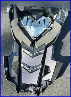Polaris Axys RMK Hood Limited Edition painted gray excellent condition