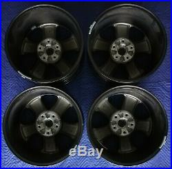 RAM 1500 Night Edition OEM 20 Wheels TPMS Satin Black Excellent Condition