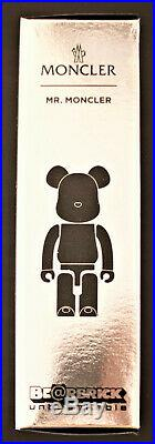 RARE Bearbrick Mr. Moncler LIMITED EDITION 100 Strap Excellent Condition