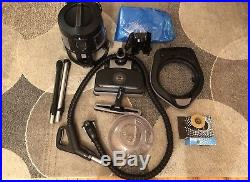 Rainbow Vacuum E2 E4 Black edition with LED Lights 2 Speed Excellent Condition