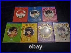 Ranma 1/2 TV Series Special Edition Blu-Ray Set 1-5 Excellent Condition, 6-7 New