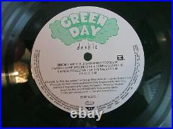 Rare 1994 Green Day Dookie Limited Edition #6055 Green Vinyl Excellent Condition