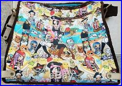 Rare LeSportSac Tokidoki Edition Ciao Ciao Extra Large Bag Excellent Condition
