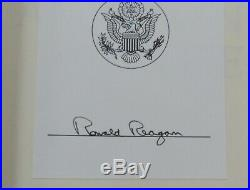 Reagan Signed 1st Edition An American Life Excellent Condition Ships FREE