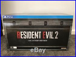 Resident Evil 2 Collector Edition PS4 Excellent Condition Complete