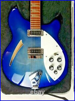 Rickenbacker 360 Limited Edition Blue Burst 12 String Excellent Condition