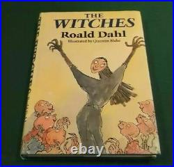Roald Dahl THE WITCHES FIRST EDITION HB EXCELLENT CONDITION 1983
