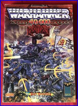 Rogue Trader Rulebook OOP 1990 2nd Edition Excellent Condition Warhammer (UB02)