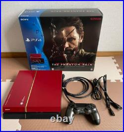 SONY PS4 PlayStation4 Metal Gear Solid Limited Edition 500GB Excellent Condition