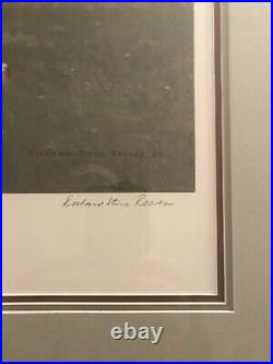 Secretariatby Richard Stone Reeves. Limited Edition Print. Excellent Condition