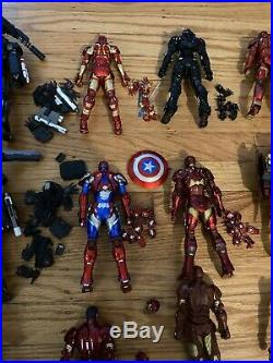 Sentinel REEDIT Iron Man Lot Of 14. Excellent Condition