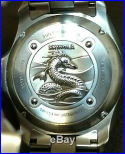Shinola lake Erie monster limited edition s. Number 164/500 excellent condition