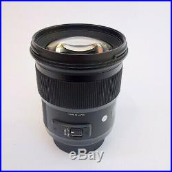 Sigma 50mm f/1.4 Art Lens for Nikon F withDOCK EXCELLENT CONDITION, USA VERSION