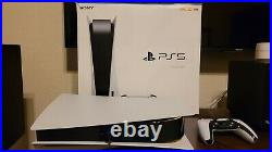 Sony PS5 Blu-Ray Edition Console Used in Excellent Condition with 3 Games