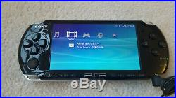 Sony PSP 3000 Rock Band Edition withBox Excellent Condition