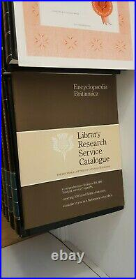 THE NEW ENCYCLOPEDIA BRITANNICA 15th Edition Excellent Condition