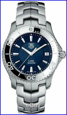 Tag Heuer Link wj1112 blue faced version in excellent condition