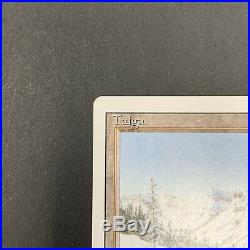 Taiga Revised Edition Dual Land MTG Magic the Gathering Excellent Condition