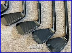 Taylor Made P790 Black Limited Edition Golf Irons 4-PW Excellent condition