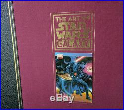 The Art of Star Wars Galaxy (SIGNED/LIMITED EDITION) Excellent Condition