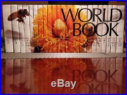 The World Book Encyclopedia Complete Set 2015 Edition, Excellent Condition