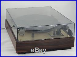 Thorens TD 147 RARE Jubilee Edition with GOLDEN Plate in EXCELLENT CONDITION