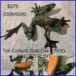Tim cottrell bronze Limited Edition-Excellent condition