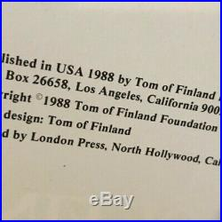 Tom of Finland Retrospective Vol 1 Signed 1st Edition excellent condition ex