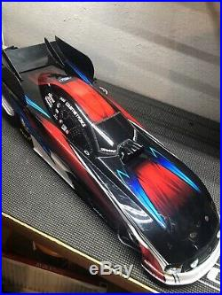 Traxxas Funny Car 1/8 Drag Car Courtney Force Edition Excellent Condition