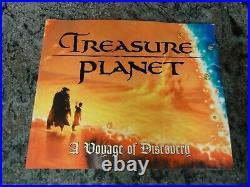 Treasure Planet A Voyage Of Discovery Disney Editions Excellent Condition