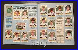 UK Edition Panini World Cup 1990 90 Complete Excellent Condition