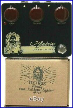 Used Mythos Pedals Mjolnir Wildwood Guitars Edition, Excellent Condition with Box