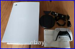 Used Sony PS5 Digital Edition Console White. Excellent condition