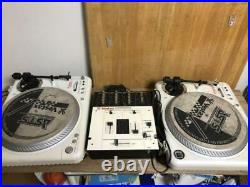 Vestax PDX-2000 Limited Edition DJ SET with Genuine adapter in Excellent Condition
